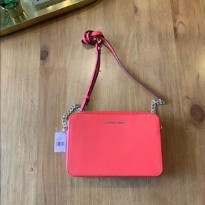 Michael Kors Medium Leather Crossbody NEW